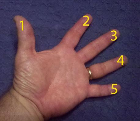5 Finger Practice Regime