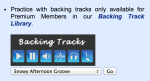 Backing Tracks Library is growing!