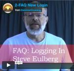 New Log-In Procedure &FAQs