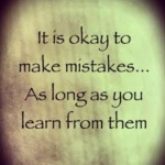 Learn More from Mistakes
