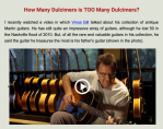 How Many Dulcimers?